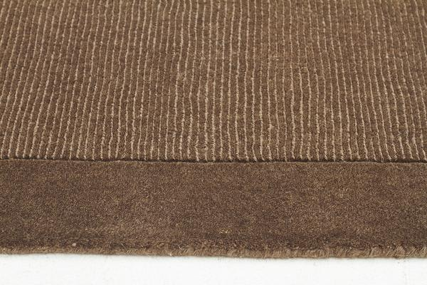 Cut and Loop Pile Rug Taupe 225x155cm