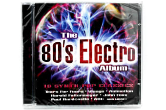 Electro 80's by Various Artists. BRAND NEW SEALED MUSIC ALBUM CD - AU STOCK
