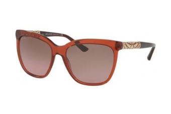 Bvlgari BV8173B 56mm - Transparent Gradient Brown (Violet Gradient Brown lens) Womens Sunglasses