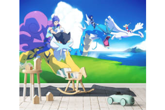 3D Powerful Mount 53 Anime Wall Murals Woven paper (need glue), XXL 312cm x 219cm (WxH)(123''x87'')