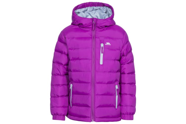 Trespass Childrens/Kids Aksel Padded Jacket (Purple Orchid) (9-10 Years)
