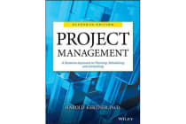 Project Management - A Systems Approach to Planning, Scheduling, and Controlling
