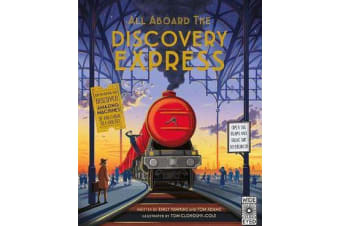 All Aboard The Discovery Express - Open the Flaps and Solve the Mysteries