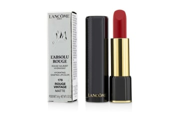 Lancome L' Absolu Rouge Hydrating Shaping Lipcolor - # 178 Rouge Vintage (Matte) 3.4g/0.12oz