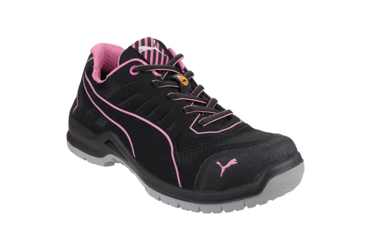 Puma Safety Womens/Ladies Lightweight Fuse TC Safety Trainers (Black) (4 UK)