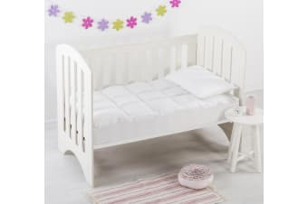 Down Alternative Cot Size Mattress Topper-Boori