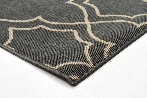 Casablanca Teal Outdoor Rug 160X110cm
