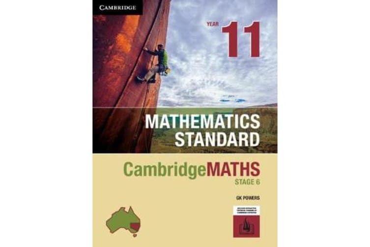 Cambridge Maths Stage 6 NSW Standard Year 11