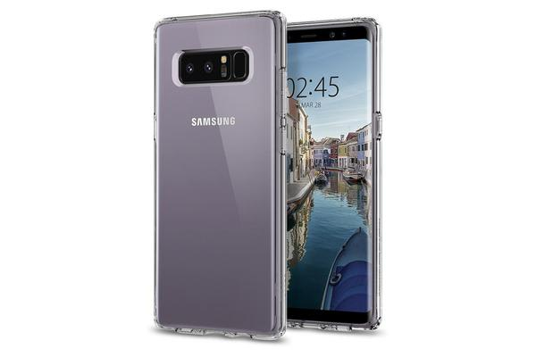 Spigen Galaxy Note 8 Ultra Hybrid Case Crystal Clear Certified Military-Grade Protection