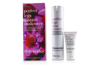 This Works Perfect Legs Instant Makeover Kit: Perfect Legs Skin Miracle Serum 120ml + Perfect Legs Sculpt & Shine 30ml 2pcs