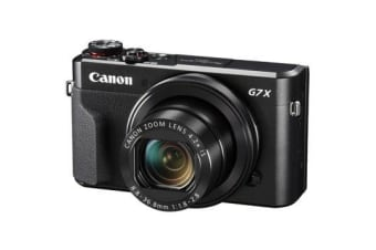 New Canon PowerShot G7 X Mark II 20MP Full HD Digital Camera Black (FREE DELIVERY + 1 YEAR AU WARRANTY)