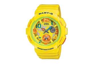 Casio Baby-G Ana-Digital Watch - Yellow (BGA190-9B)
