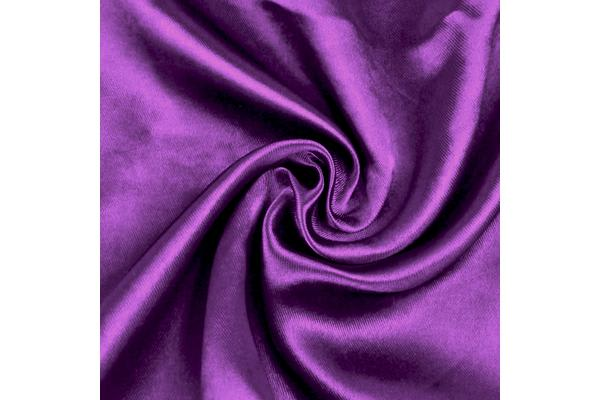 1 Pair Blockout Curtains Panels Blackout 3 Layers Purple 180x230cm