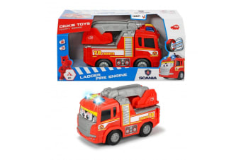 Dickie Toys Scania Lights and Sounds Fire Engine
