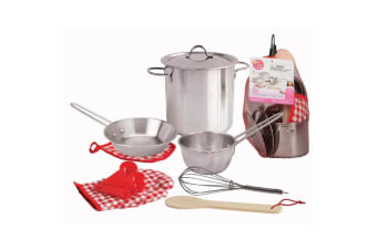 Stainless Steel Cooking Play Set - KAPER KIDZ