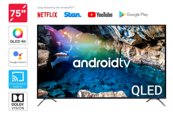 "Kogan QLED 75"" Smart HDR 4K UHD TV Android TV™ (Series 9, XR9510)"