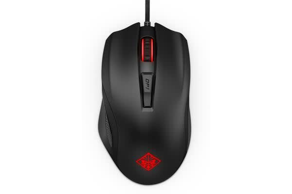 HP HP OMEN 600 Mouse - Optical - Cable - USB - 12000 dpi - Scroll Wheel  6 Button(s) Right-handed