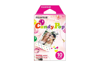 Fujifilm Instax Mini Candy Pop Film - 10 Sheets