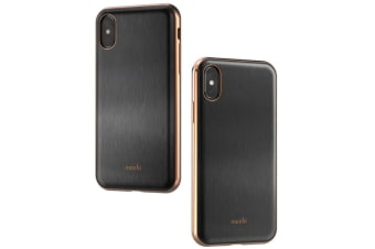 Moshi iGlaze Case for iPhone X/XS - Black
