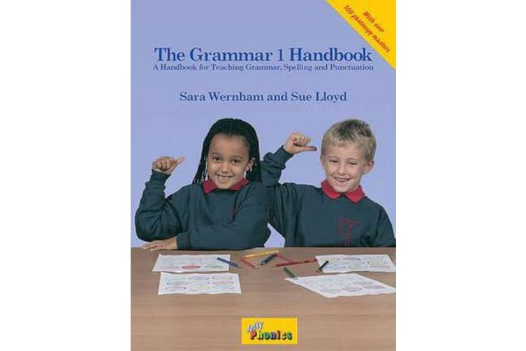The Grammar 1 Handbook - in Precursive Letters (BE)