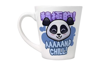 Handa Panda And Chill Latte Mug (White)
