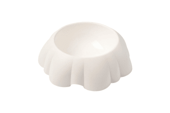 United Pets Daisy Dog Bowl (White)