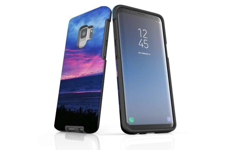 For Samsung Galaxy S9 Case Armour Cover  Sunset at the Beach