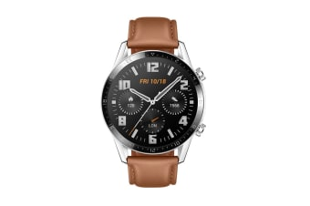 Huawei Watch GT 2 Classic 46mm Smart Watch (Brown)