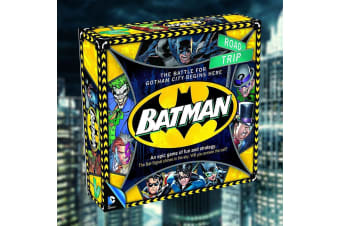 DC Comics Batman Battle For Gotham Strategy Board Game