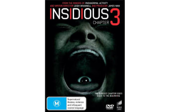 Insidious Chapter 3 DVD Region 4