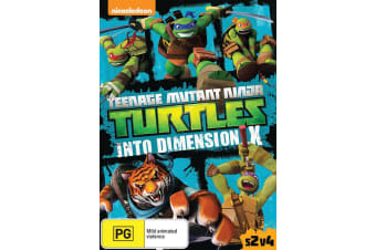 Teenage Mutant Ninja Turtles Into Dimension X Season 2 DVD Region 4