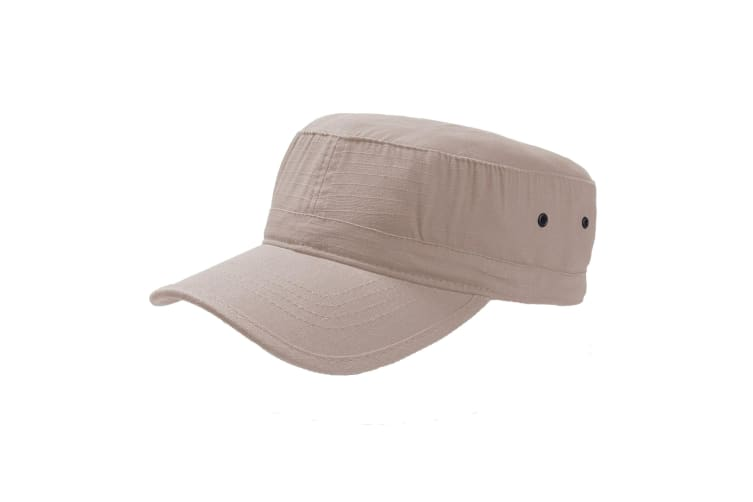 Atlantis Army Military Cap (Khaki) (One Size)
