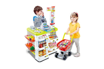 Kids Home Supermarket Playset