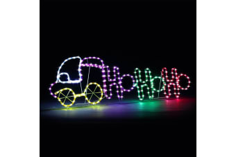 New Christmas Lights Car and Letter Motif 9M LED Rope Xmas Decoration Outdoor Home Display