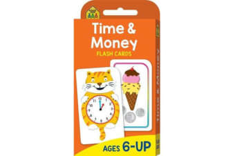 School Zone Flashcards Time and Money (new cover)
