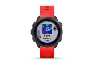 Garmin Forerunner 245 GPS Running Smartwatch Music - Lava Red (010-02120-A3) (Eng Only)