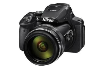 New Nikon Coolpix P900 16MP Digital Camera Black (FREE DELIVERY + 1 YEAR AU WARRANTY)