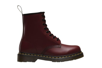 Dr. Martens 1460 Smooth Leather Hi Top Shoe (Cherry Red)