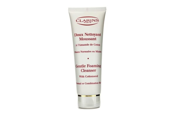Clarins Gentle Foaming Cleanser with Cottonseed (Normal / Combination Skin) (125ml/4.4oz)
