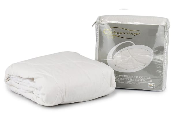 Onkaparinga Deluxe Cotton Quilted Waterproof Mattress Protector (Bassinet)