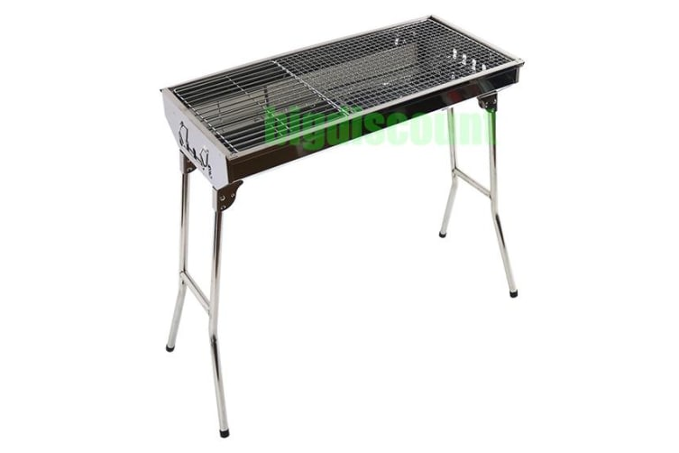 Foldable Stainless Steel Charcoal BBQ Grill