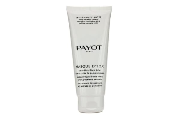 Payot Les Demaquillantes Masque D'Tox Detoxifying Radiance Mask - For Normal To Combination Skins (Salon Size) (200ml/6.7oz)