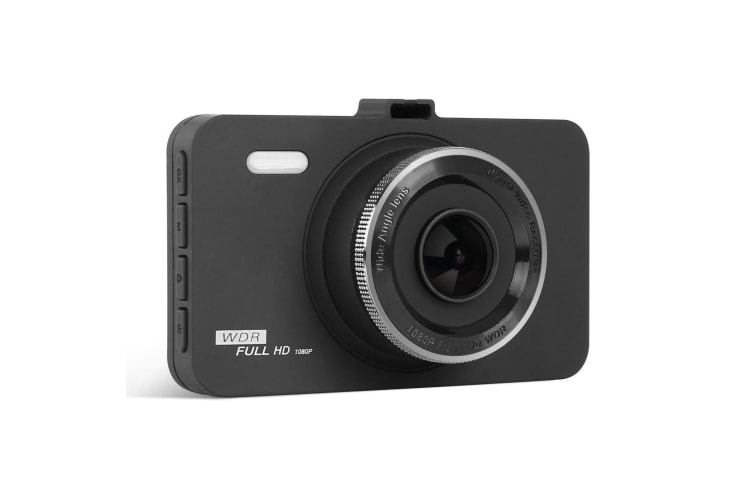 UL Tech 3 Inch Dash Car Camera - Black