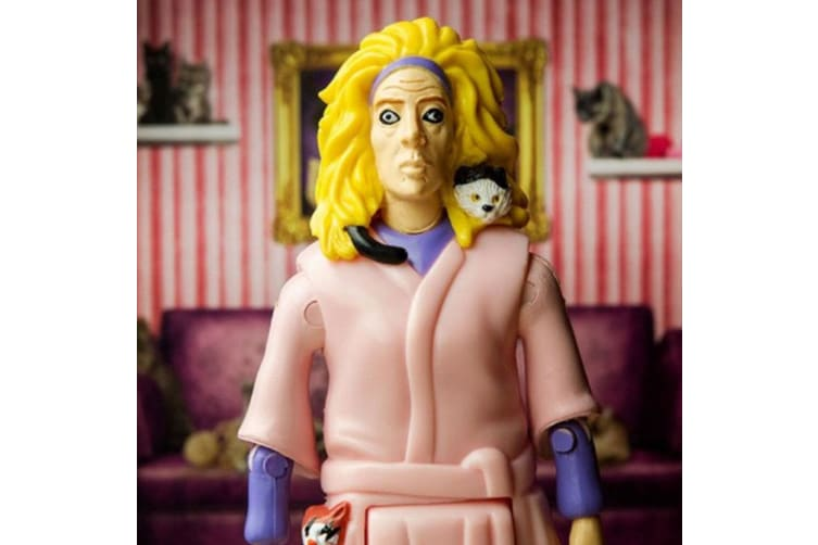 Archie McPhee Crazy Cat Lady Kitten Lover Kids/Adult Action Figure Toys 12y+