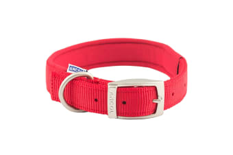 Ancol Pet Products Heritage Padded Dog Collar (Red)