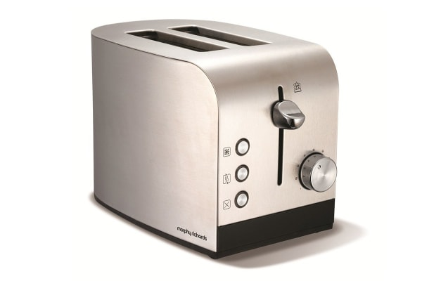 Morphy Richards Accents 2 Slice Toaster (Bruched SS)