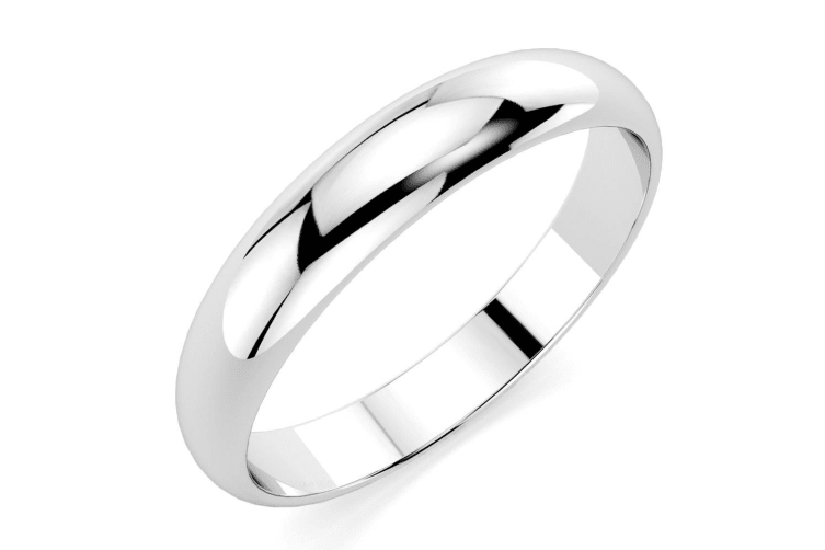 .925  Russian Wedding Ring IV-Silver Size US 7