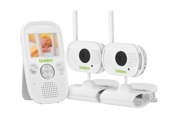 "Uniden 2.3"" Two Camera Digital Wireless Baby Video Monitor"