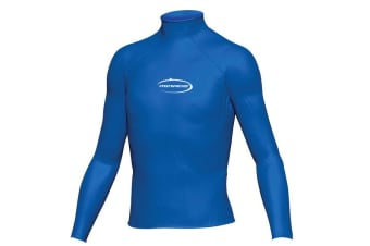 Mirage Junior Lycra Rash Long Sleeve Shirt 16 Blue