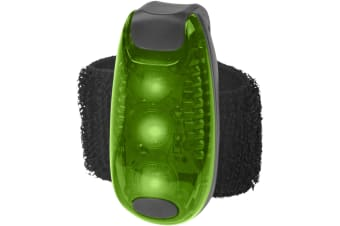 Bullet Rideo Reflector Light (Green/Solid Black) (5.5 x 2.5 x 2 cm)